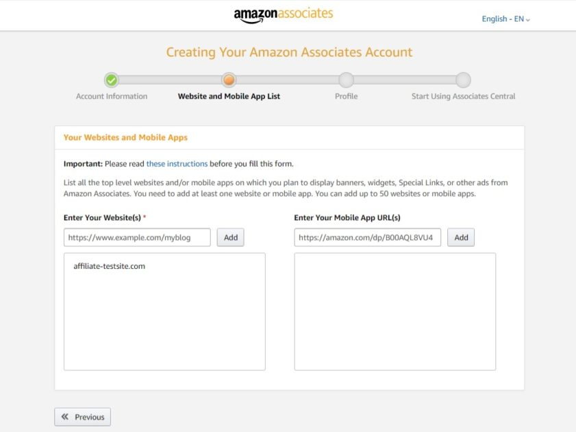 How to Become an Amazon Affiliate Signup Process