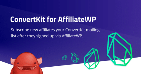 KryptoniteWP - AffiliateWP ConvertKit Integration Plugin