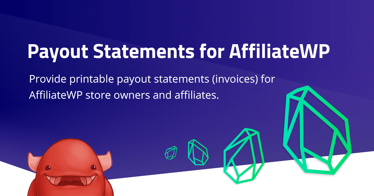 AffiliateWP Payout Statements: Version 1.2 released – Tax / VAT handling
