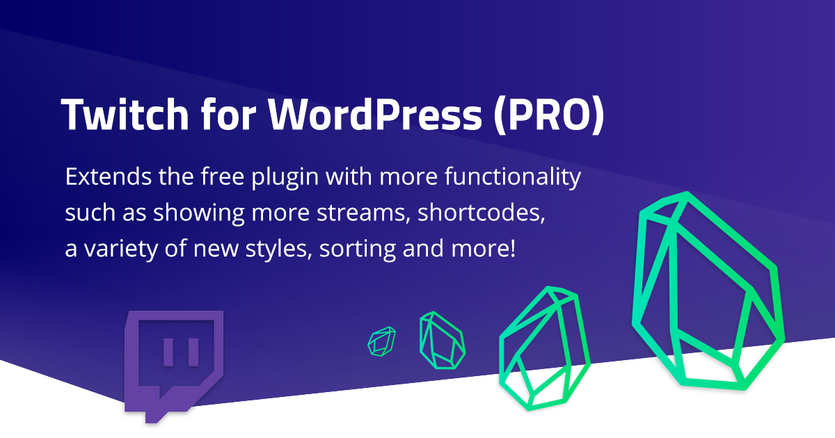 Twitch for WordPress – PRO